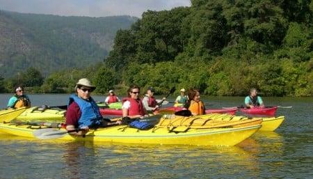 kayaking with Riverkeeper