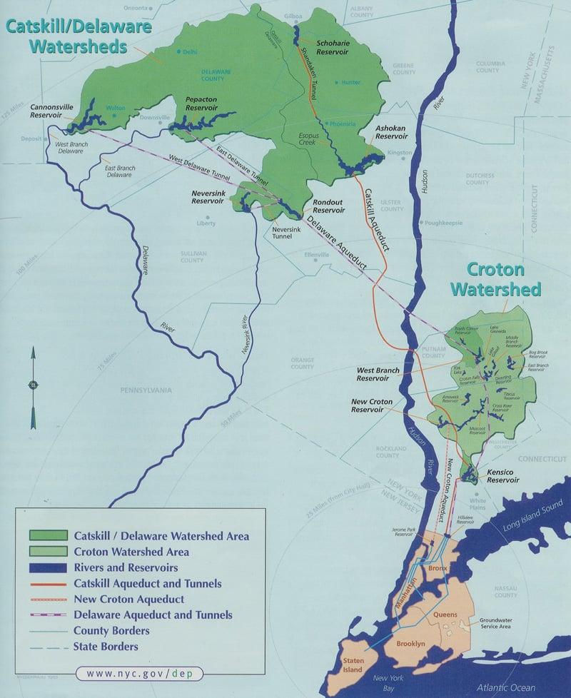 Map Of New York Rivers.Basics Riverkeeper