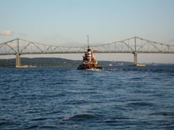 Tappan Zee mid-channel