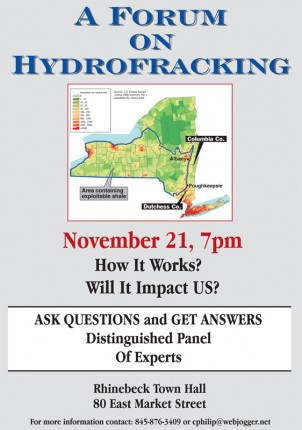 Hydrofracking flyer without disclaimer
