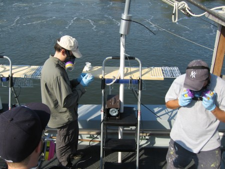 aeration project-Newtown Creek
