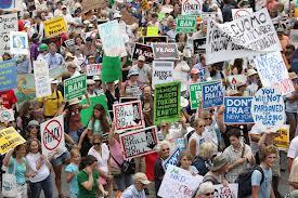 frack crowds