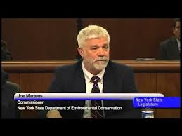 DEC Commish Martens Testifies on Fracking