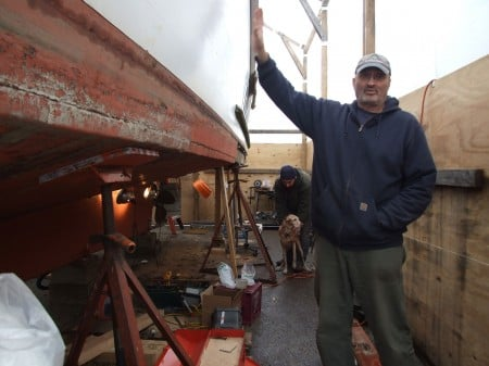 Winter Patrol Boat Repairs - 2013