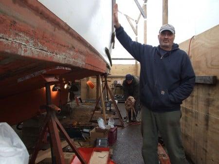 Winter Patrol Boat Repairs - 2013