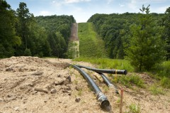Pipeline clearing in PA, credit: Max Phillips Via Flickr