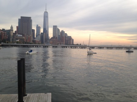 Day View of Hudson from Pier 26