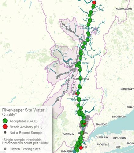 Final 2015 Hudson River Sampling Patrol Shows Good Water Quality