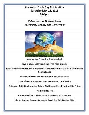 Coxsackie Earth Day 2016 flyer-page-001