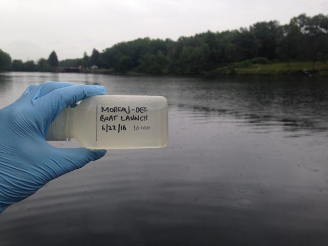 Upper Hudson River Water Quality Sampling Results - Riverkeeper