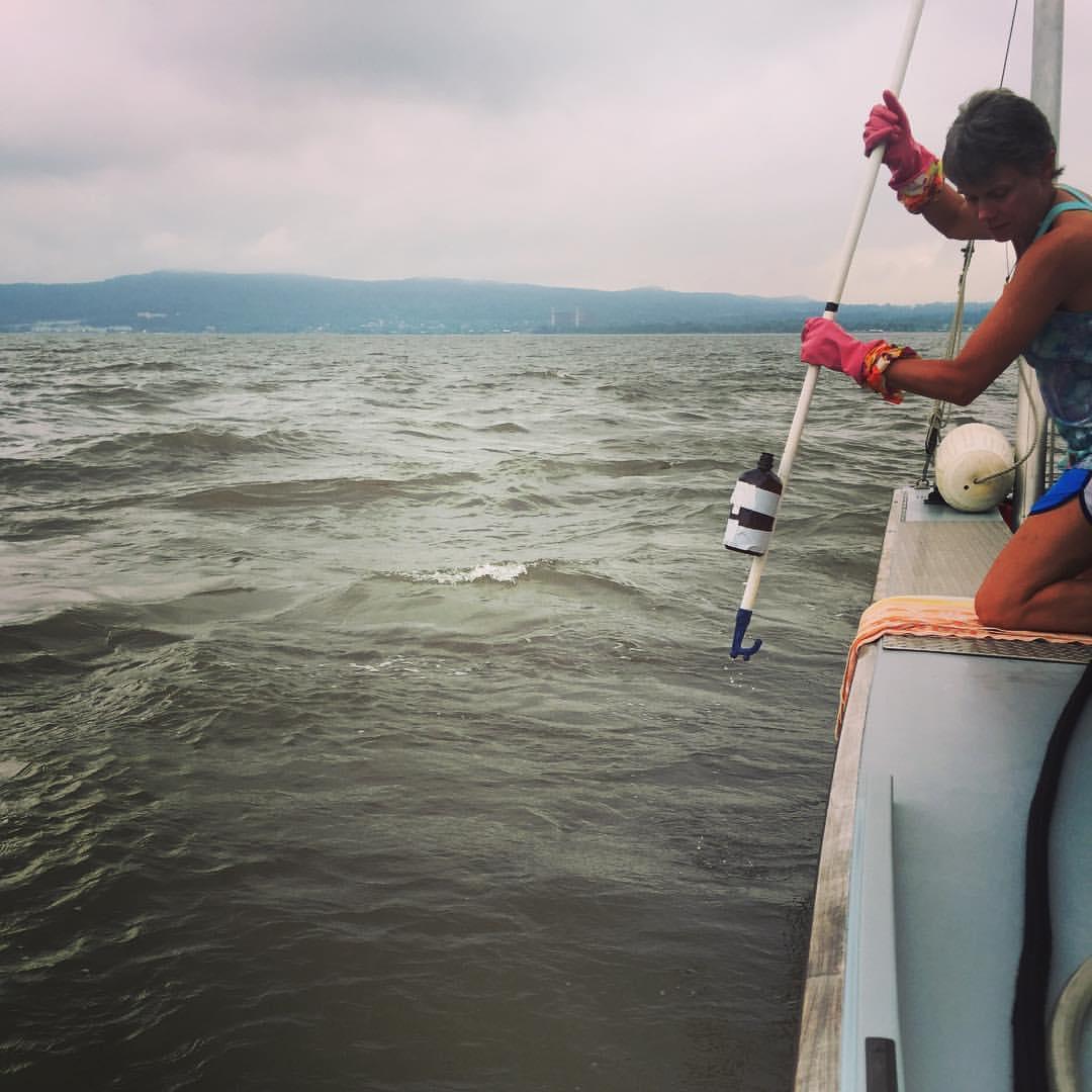 July Water Quality Sampling Is Underway - Riverkeeper