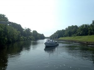 'Married to amazement' on the Mohawk River