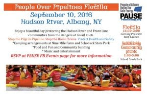 People Over Pipelines Flotilla