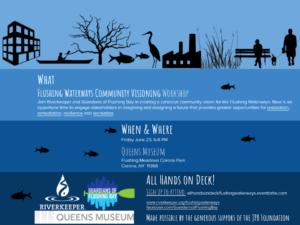 Flushing Waterways Community Visioning Workshop Flyer