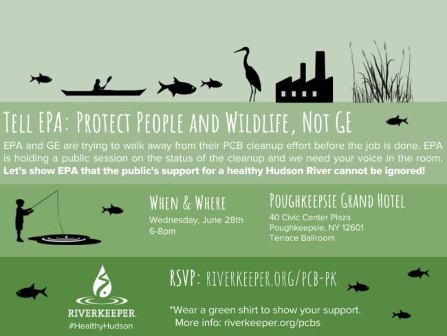 Poughkeepsie EPA Meeting Flyer