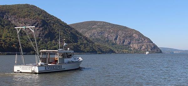 Patrol boat at Storm King