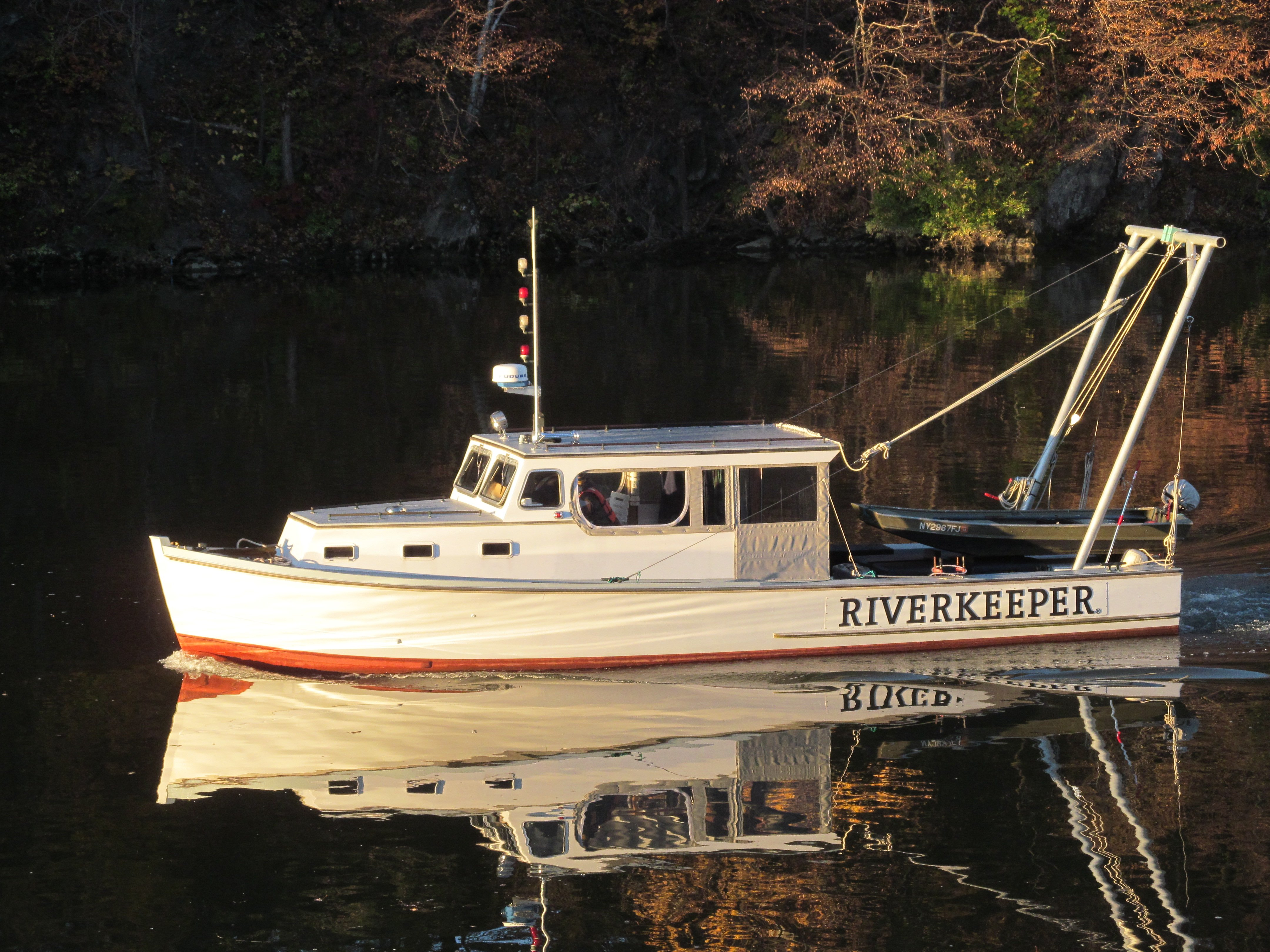 10 fast facts about the Riverkeeper patrol boat