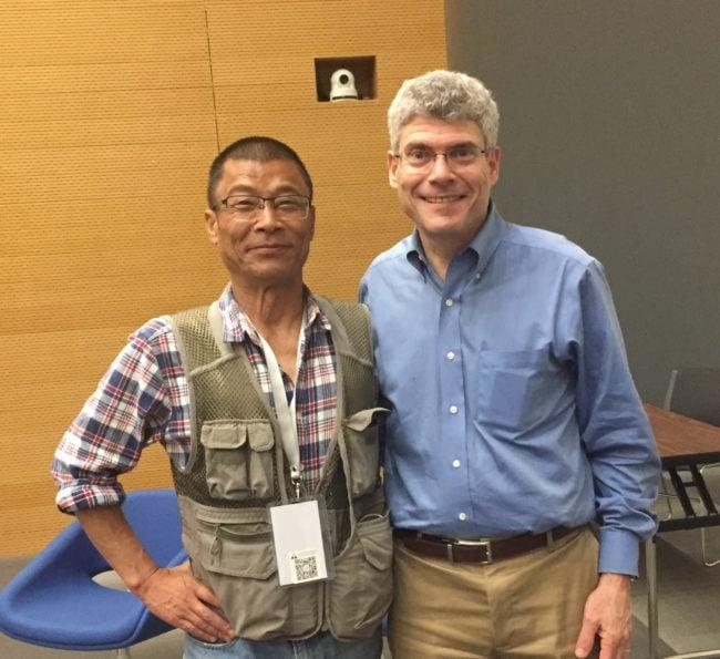 Paul Gallay in China