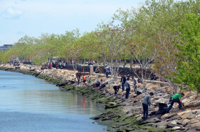 Flushing-Bay-cleanup-Riverkeeper-photo