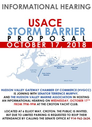 Storm barriers hearing this Wednesday October 17th