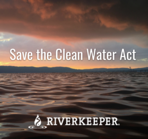 We can't a afford to lose The Clean Water Act