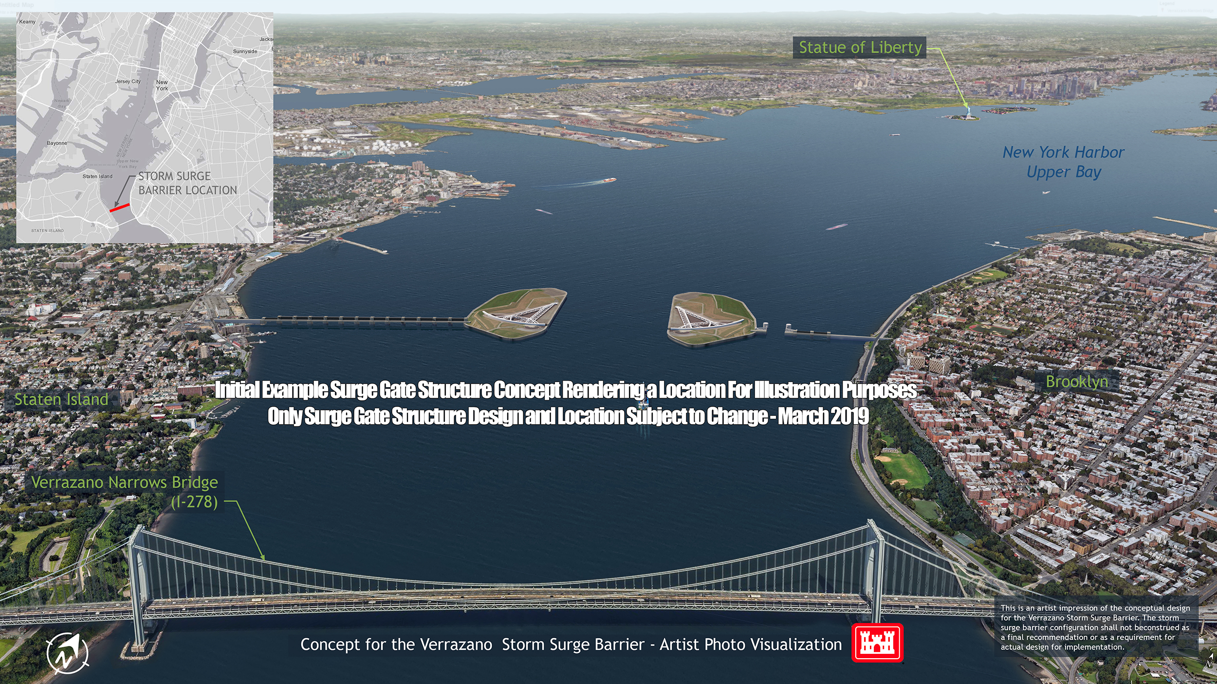 Army Corps 'Interim Report' on storm surge barriers: What