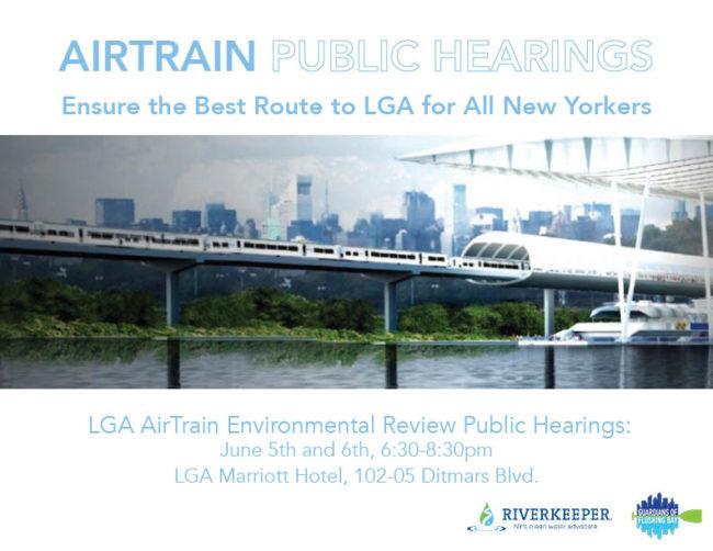 Public hearing notice - AirTrain