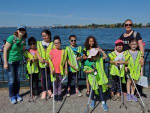 Flushing Bay shoreline cleanup