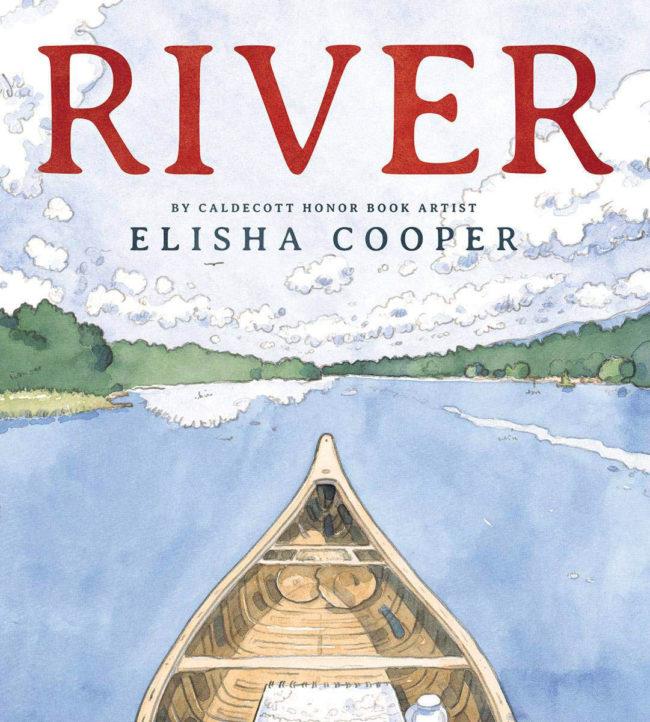 RIVER book Elisha Cooper