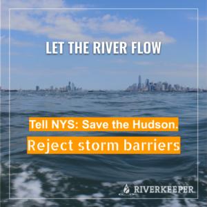 storm Surge Barriers - Let the Hudson flow
