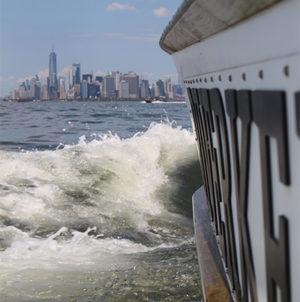 Patrol boat in NY Harbor