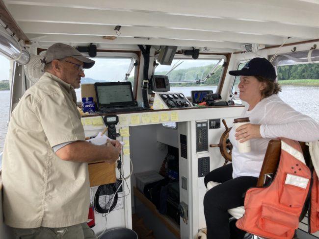 Captain John Lipscomb and Rebecca Martin