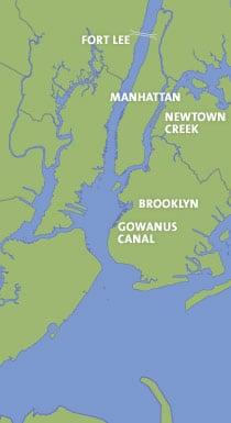 Map Of New York Harbour.New York Harbor Riverkeeper